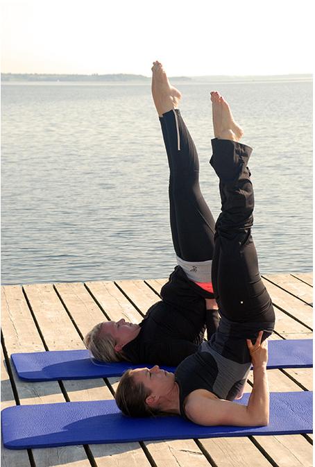sich frei bewegen | Yoga Nackenstand