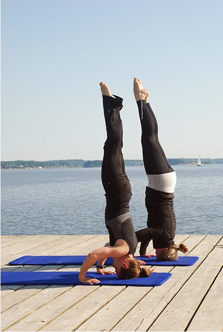 sich frei bewegen | Yoga Kopfstand